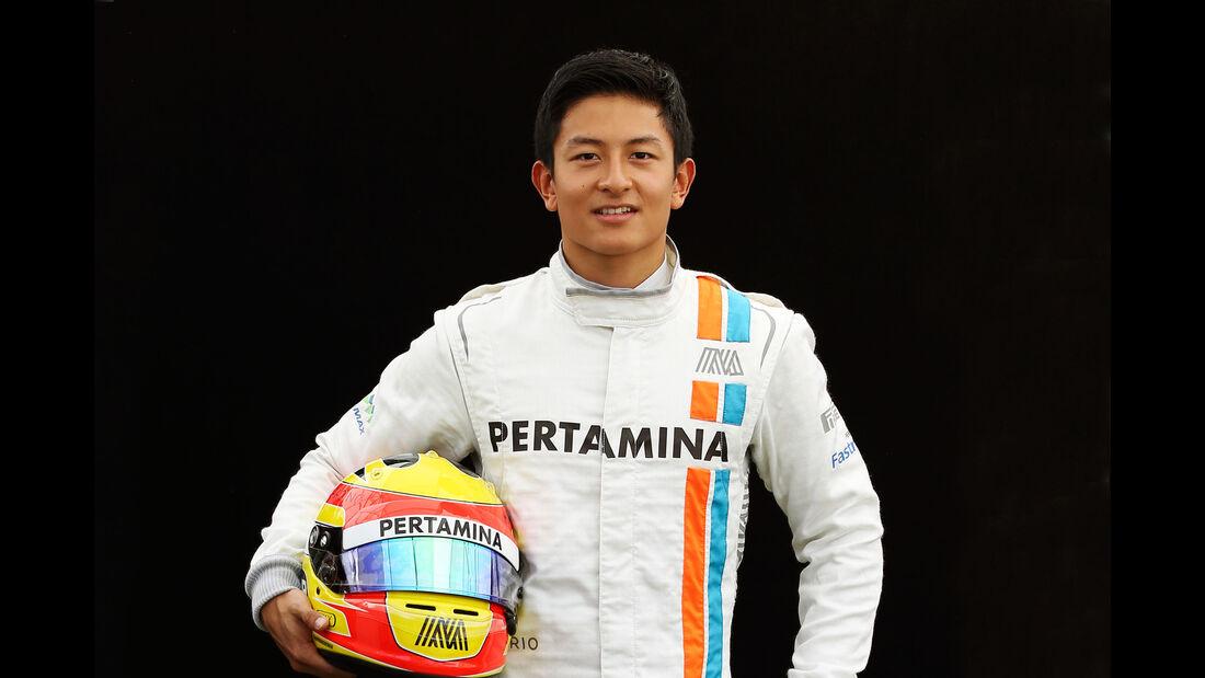 Rio Haryanto - Manor - Porträt - Formel 1 - 2016