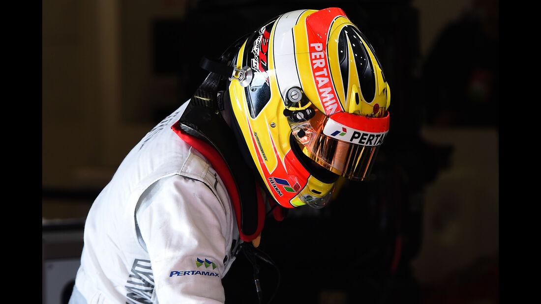 Rio Haryanto - Manor Racing - Formel 1-Test - Barcelona - 24. Februar 2016