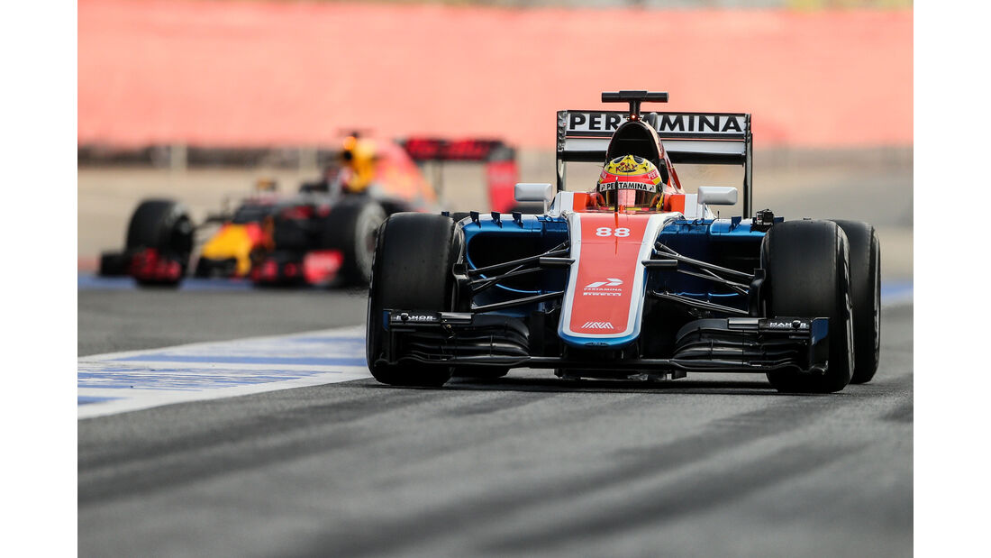 Rio Haryanto - Manor Racing - Formel 1-Test - Barcelona - 25. Februar 2016