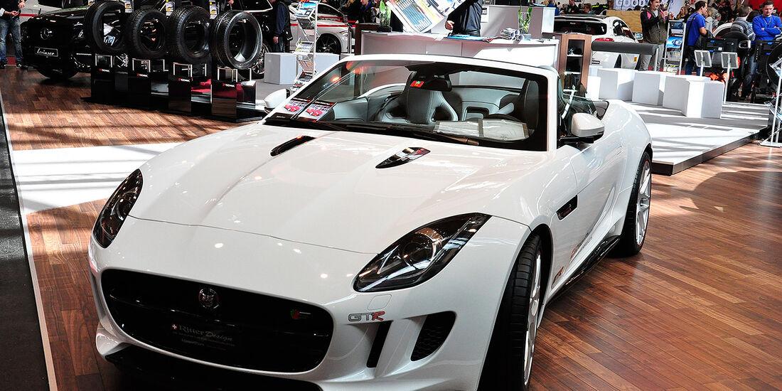Ritter Design, Jaguar F-Type Cabrio, Tuning World Bodensee 2014