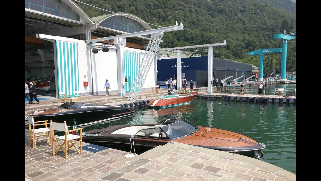 Riva Werft am Iseosee