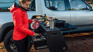 Rivian R1T Camping Küche