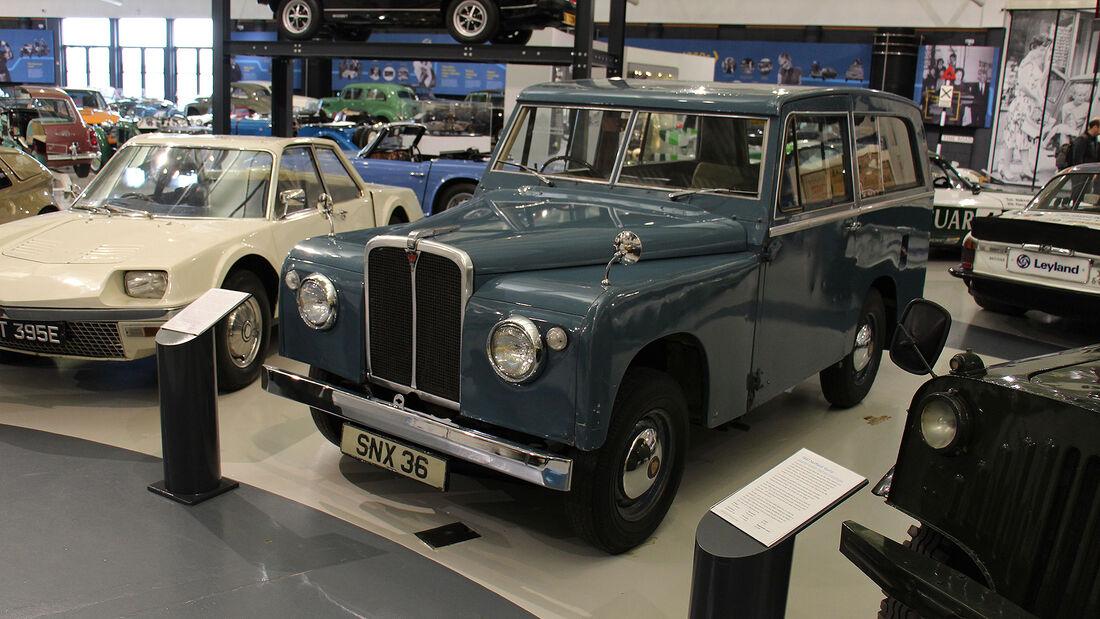 Road Rover Series I Prototyp im British Motor Museum