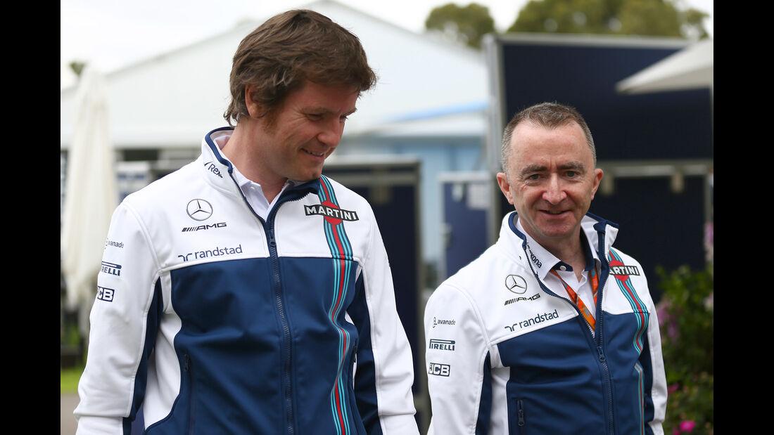 Rob Smedley & Paddy Lowe - Williams - Formel 1 - GP Australien - Melbourne - 22. März 2017
