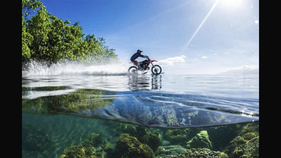 Robbie Maddison Motorrad Surfer
