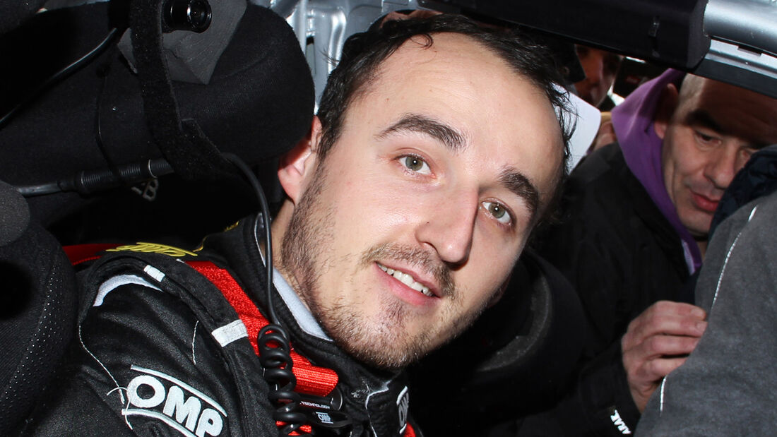 Robert Kubica 2012 Citroen