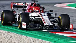 Robert Kubica - Alfa Romeo - Barcelona-Test 2020