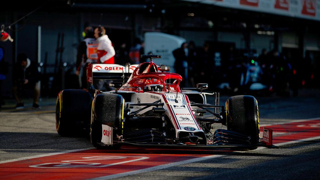 Robert Kubica - Alfa Romeo - F1-Test - Barcelona - 19. Februar 2020