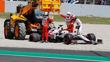 Robert Kubica - Alfa Romeo - Formel 1 - GP Spanien - 7. Mai 2020