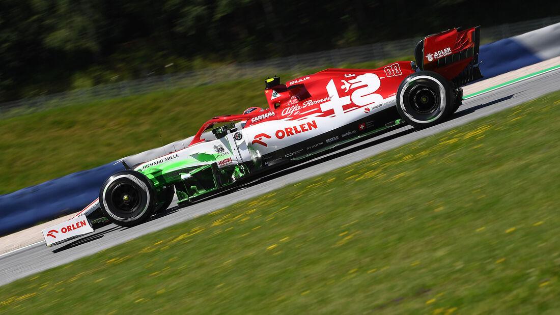 Robert Kubica - Alfa Romeo - Formel 1 - GP Steiermark - Österreich - Spielberg - 10. Juli 2020