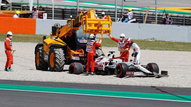 Robert Kubica - Alfa Romeo - GP Spanien 2021 - Training