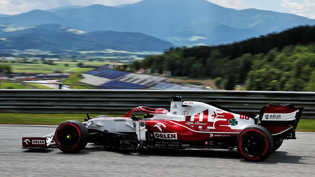 Robert Kubica - Alfa Romeo - GP Steiermark - Spielberg - Formel 1 - 25. Juni 2021