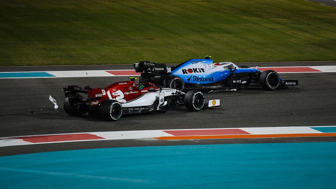 Robert Kubica - Antonio Giovinazzi - GP Abu Dhabi 2019 - Rennen