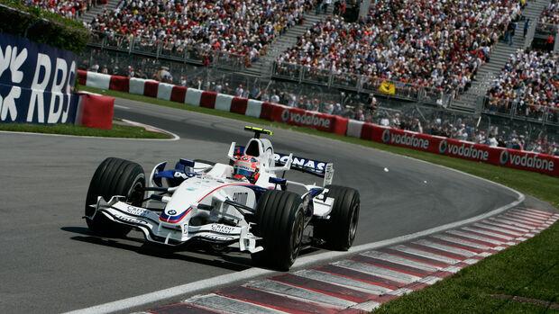 Robert Kubica - BMW F1.08 - GP Kanada 2008