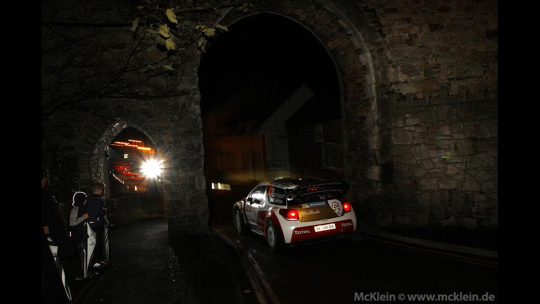 Robert Kubica - Citroen - Rally GB 2013