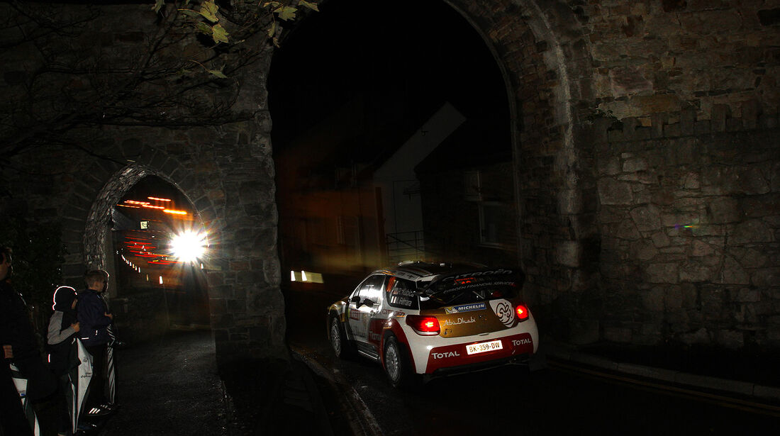 Robert Kubica - Citroen - Rally GB 2013
