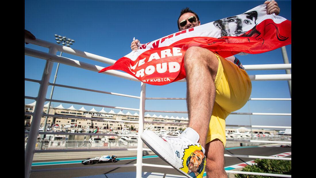 Robert Kubica Fan - GP Abu Dhabi - Formel 1 - 23. November 2018