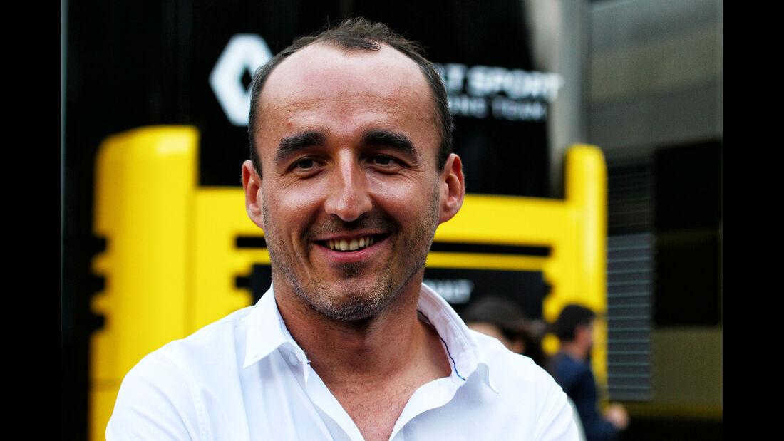 Robert Kubica - Formel 1 - GP Italien - Monza - 1. September 2017