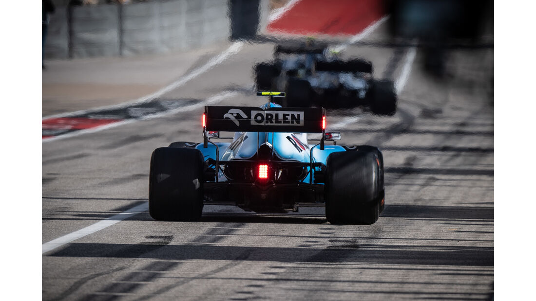 Robert Kubica  - Formel 1 - GP USA 2019
