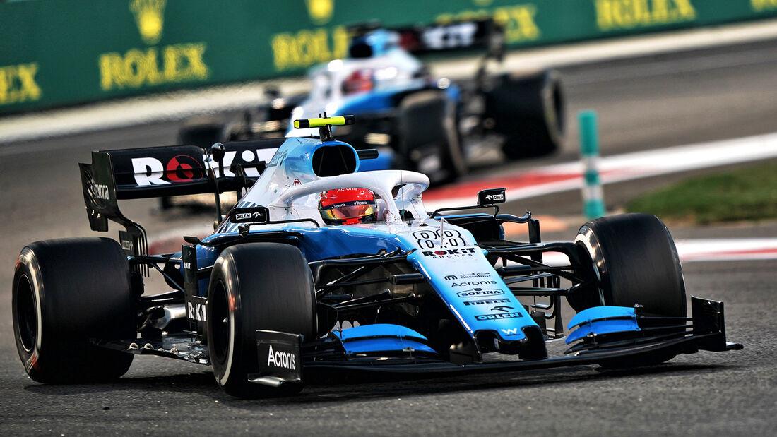Robert Kubica - GP Abu Dhabi 2019