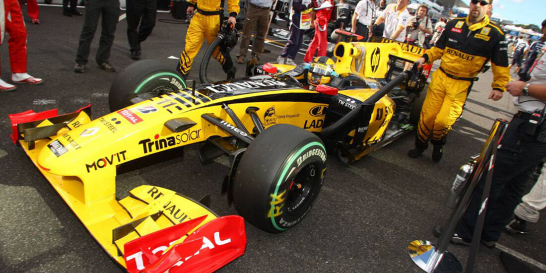 Robert Kubica - GP Japan 2010