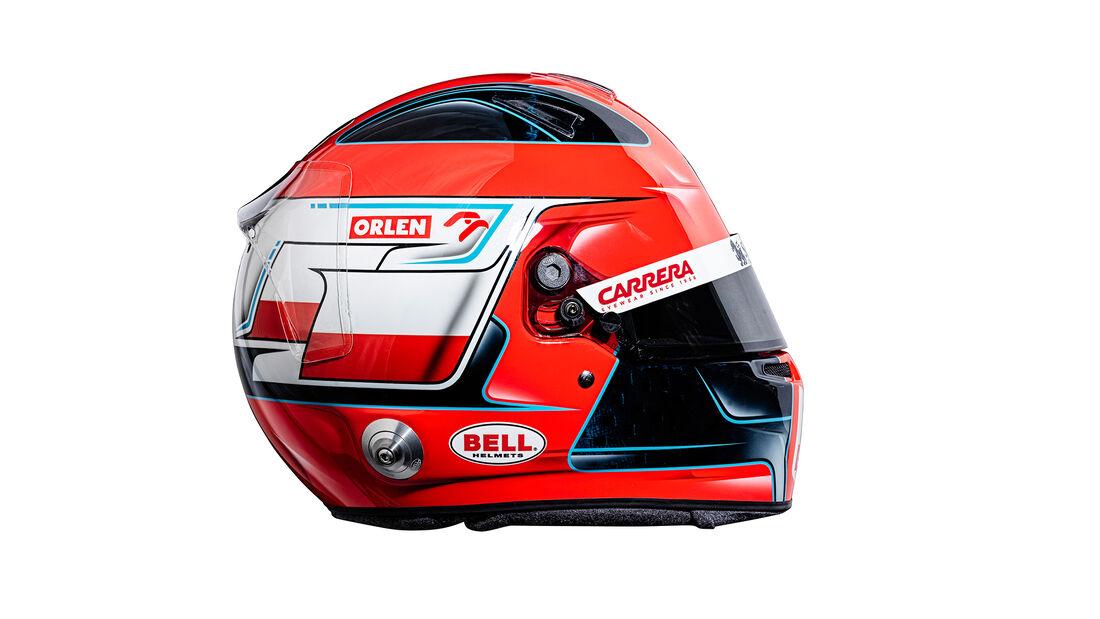 Robert Kubica - Helm - Alfa Romeo - F1 - 2021