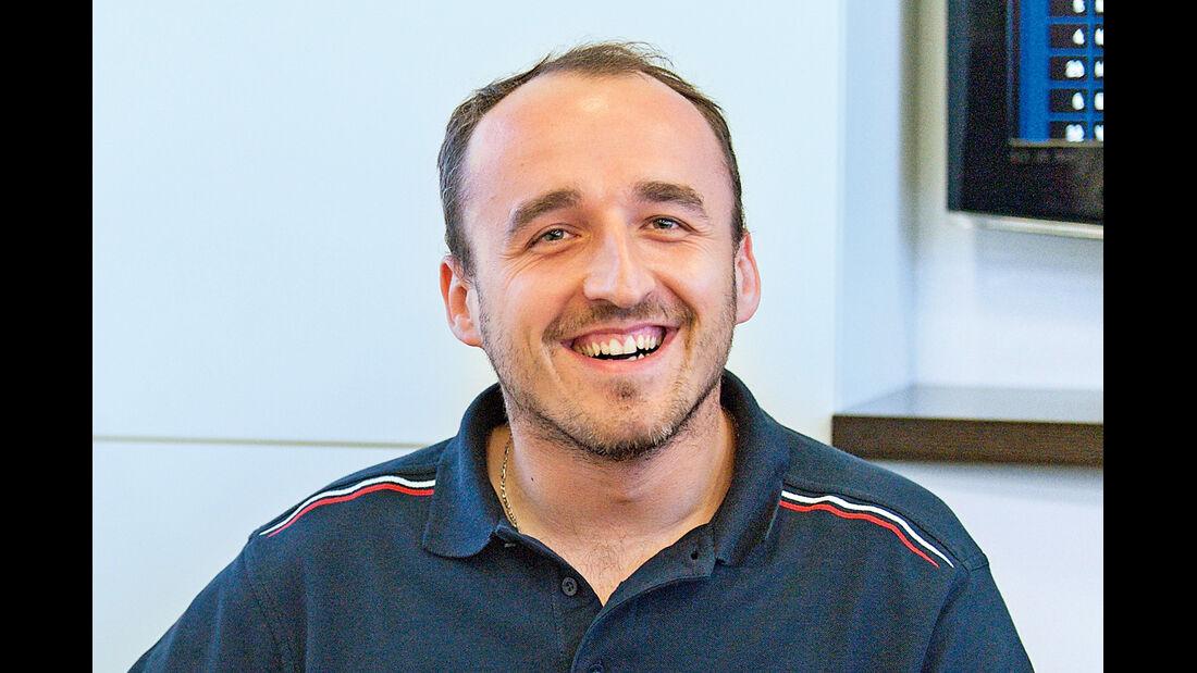 Robert Kubica, Porträt
