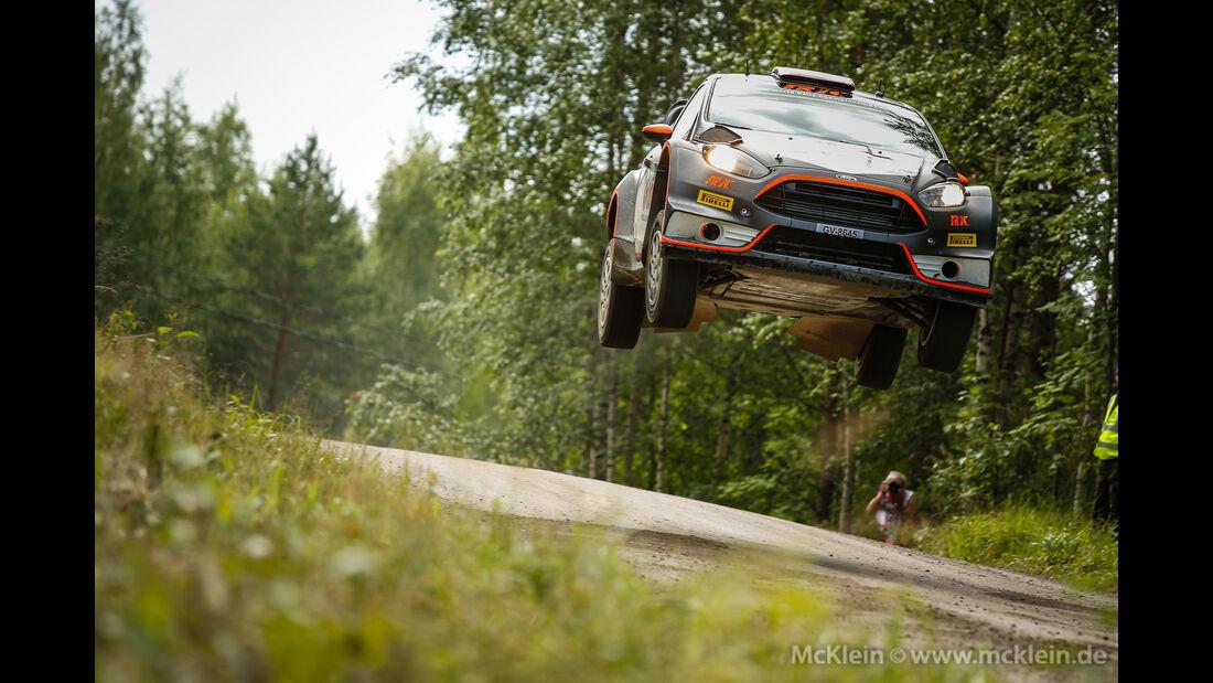 Robert Kubica - Rallye Finnland 2015