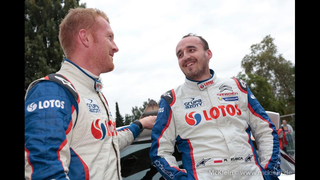 Robert Kubica - Rallye Frankreich 2013