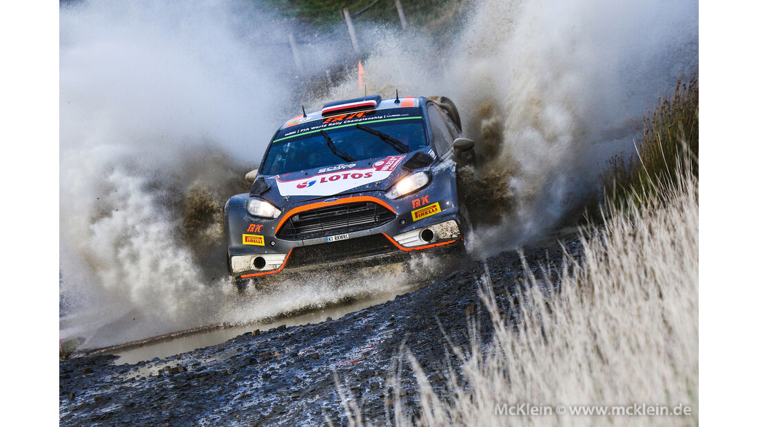 Robert Kubica - Rallye GB 2015