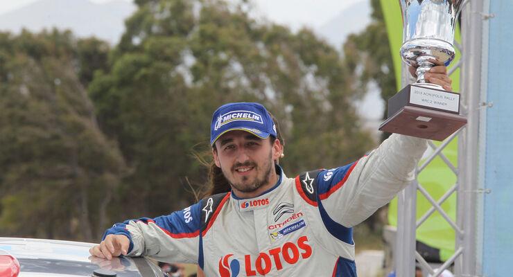 Robert Kubica Rallye Griechenland 2013