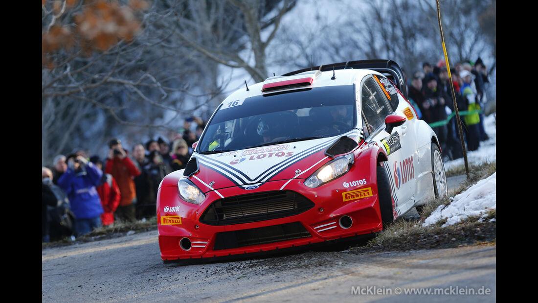 Robert Kubica - Rallye Monte Carlo 2016