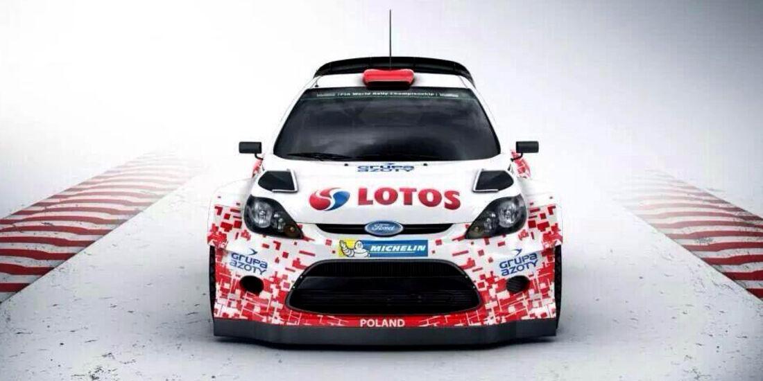 Robert Kubica - Rallye Polen 2014