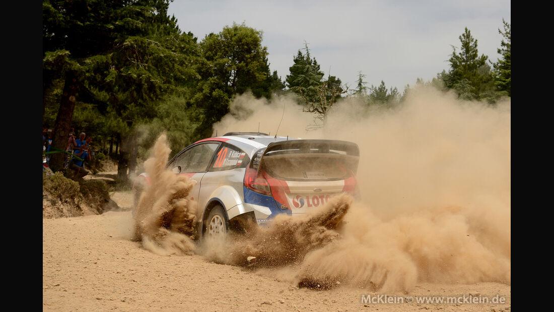 Robert Kubica - Rallye Sardinien 2014