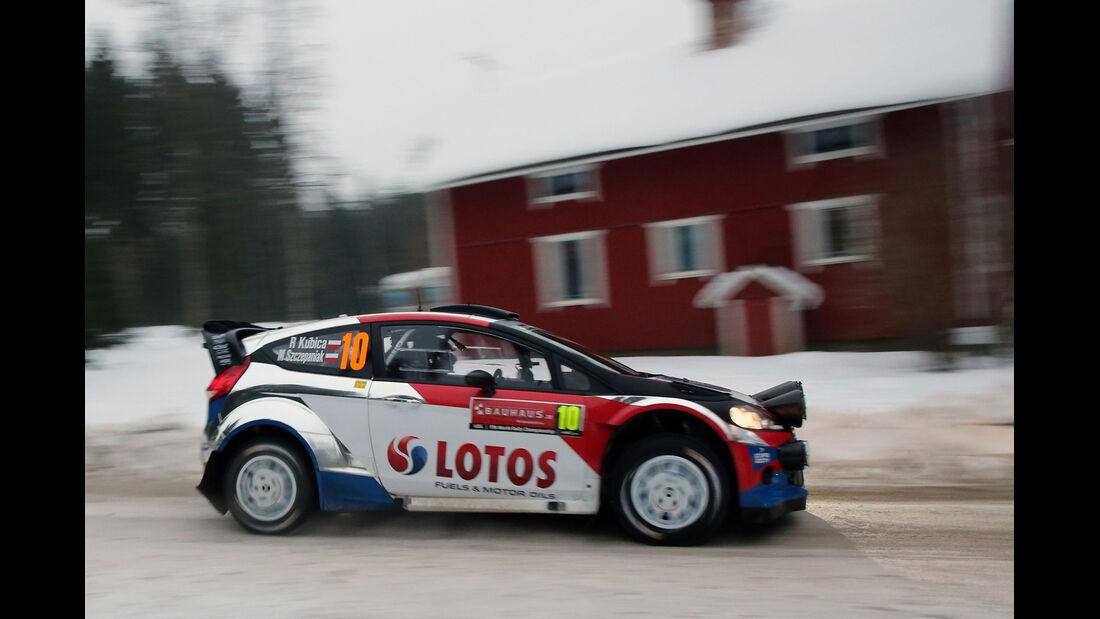 Robert Kubica - Rallye Schweden 2014