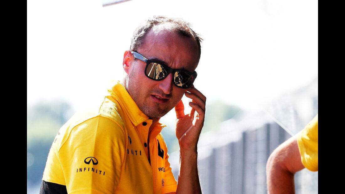 Robert Kubica - Renault - Formel 1 - Test - Ungarn - Budapest - 1. August 2017