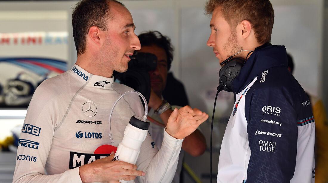Robert Kubica & Sergey Sirotkin - Williams - Formel 1 - GP Spanien - Barcelona - 11. Mai 2018