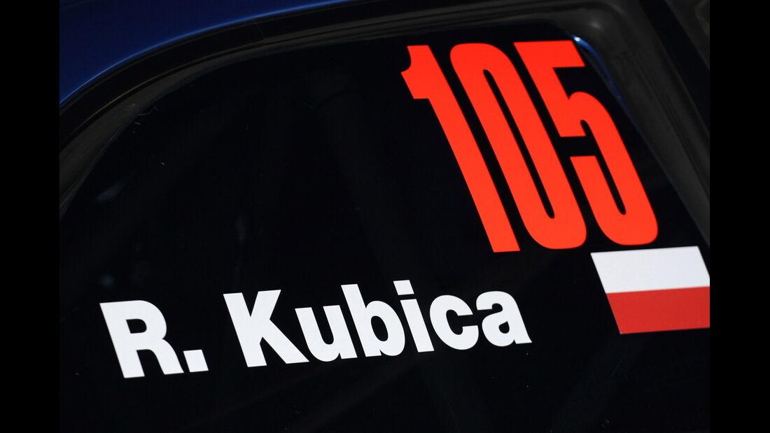 Robert Kubica Subaru Rallye San Martino di Castrozza 2012