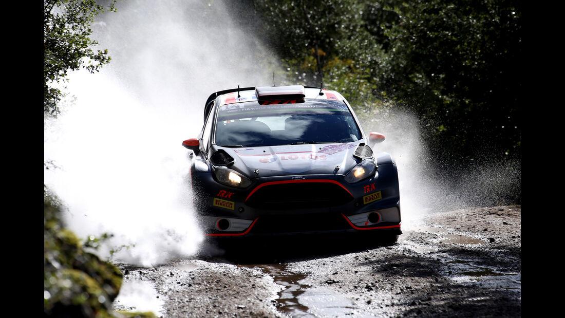Robert Kubica - WRC - Rallye Frankreich - Tour de Corse - Korsika - 2015