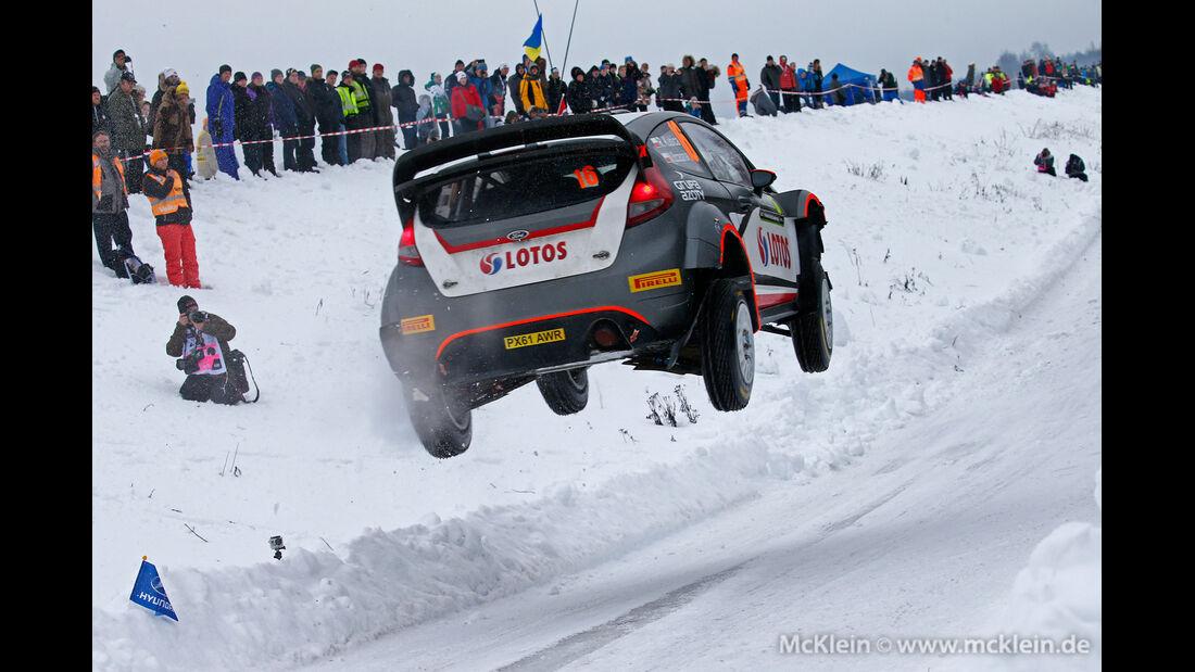Robert Kubica - WRC - Rallye Schweden 2015