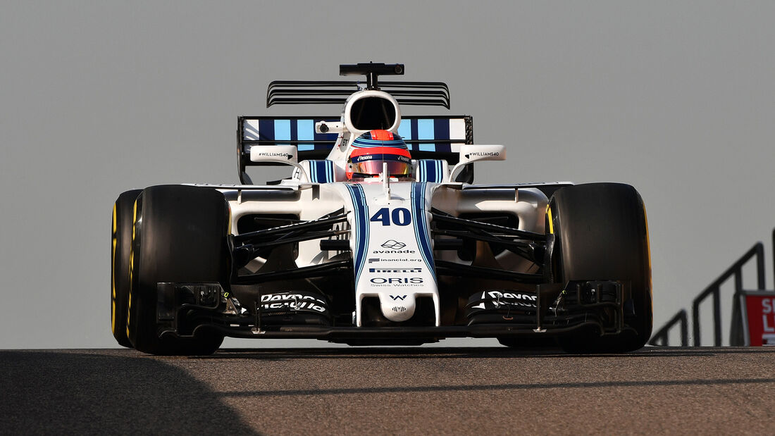 Robert Kubica - Williams - Abu Dhabi - Test 1 - 28. November 2017