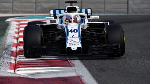 Robert Kubica - Williams - Abu Dhabi - Testfahrten