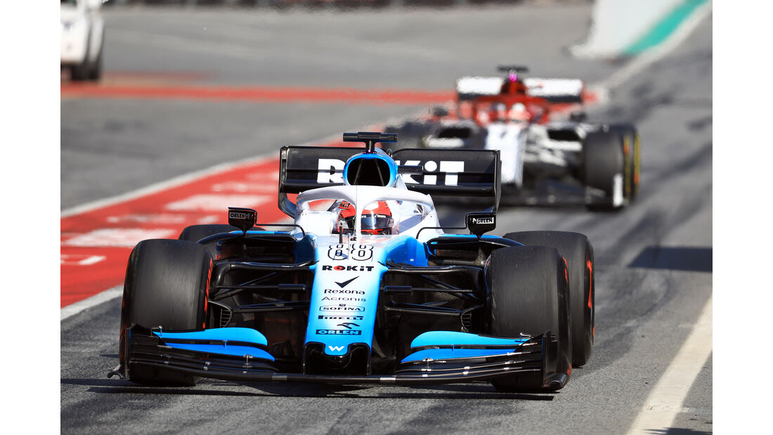 Robert Kubica - Williams - Barcelona - F1-Test - 01. März 2019