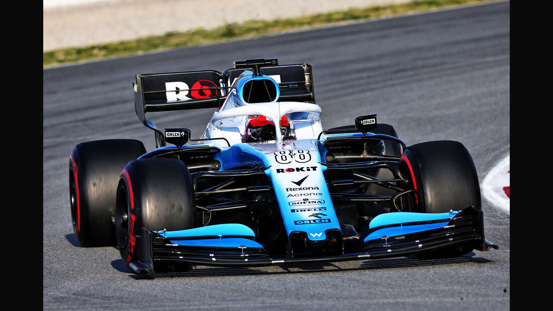 Robert Kubica - Williams - Barcelona - F1-Test - 01. März 2019