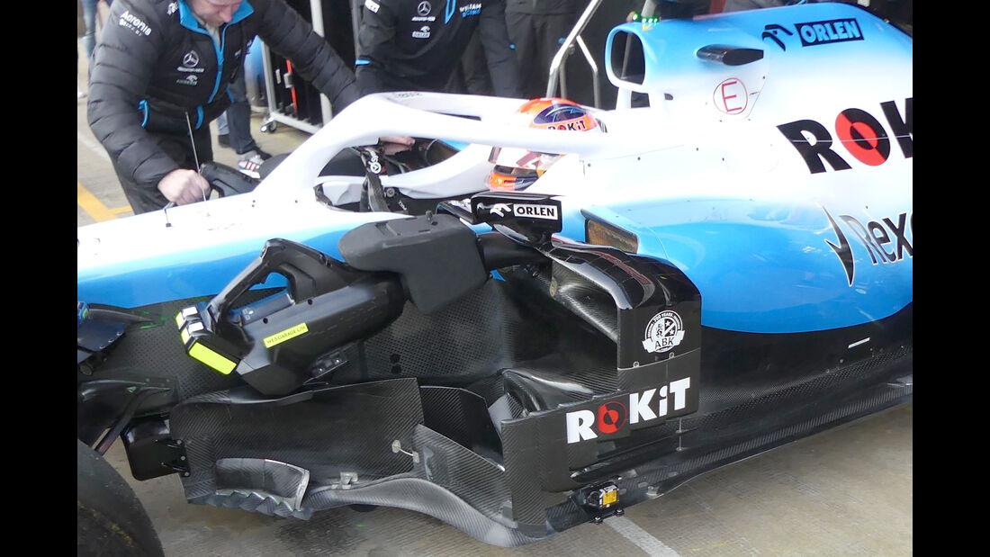 Robert Kubica - Williams - Barcelona - F1-Test - 21. Februar 2019