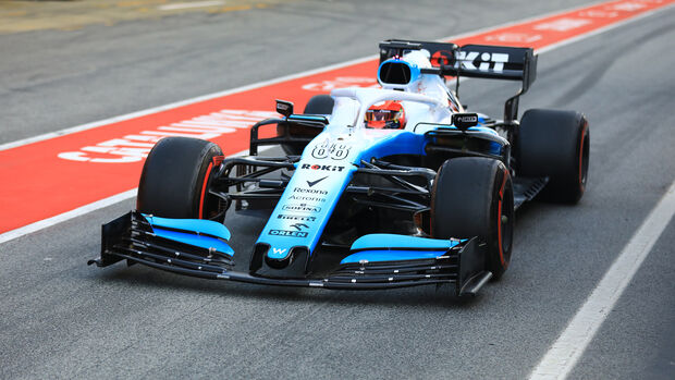 Robert Kubica - Williams - Barcelona - F1-Test - 21. Februar 2019