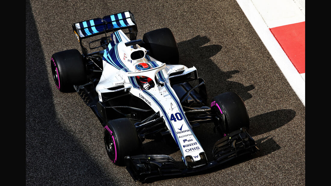 Robert Kubica - Williams - F1-Test - Abu Dhabi - 28. November 2018