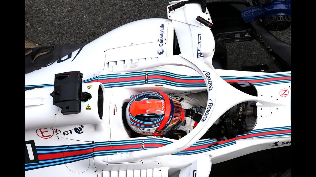 Robert Kubica - Williams - F1-Test - Barcelona - Tag 2 - 27. Februar 2018