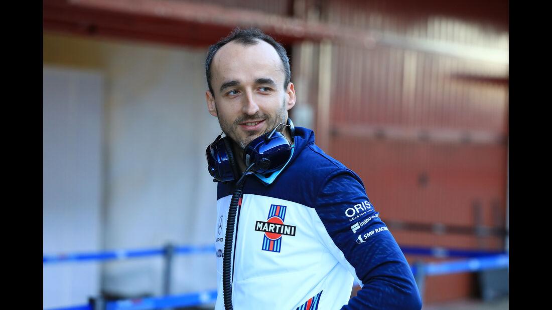 Robert Kubica - Williams - F1-Test - Barcelona - Tag 5 - 6. März 2018