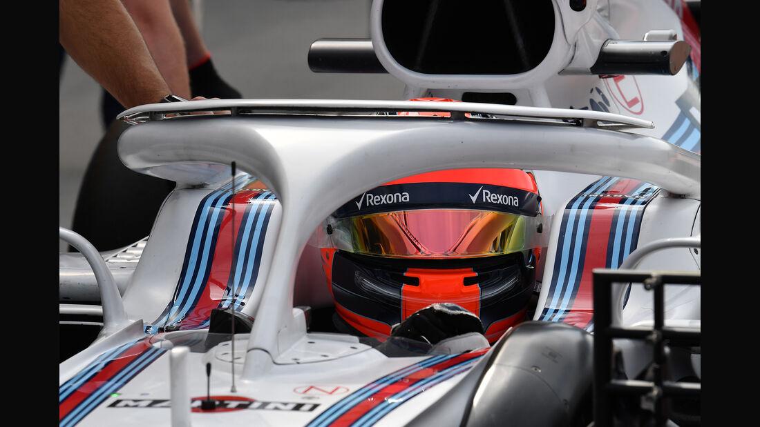 Robert Kubica - Williams - F1-Test - Budapest - 1. August 2018